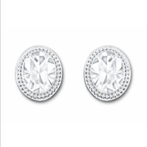 Swarovski Crystal Oval Earrings